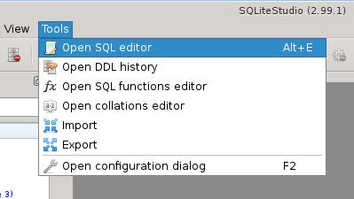 User Manual - SQLiteStudio